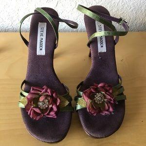 Steve Madden Satin Sandals